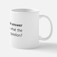 War is not the answer Mug