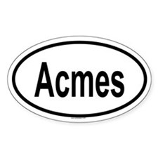 ACMES Oval Decal