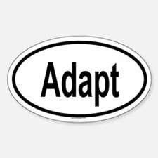 ADAPT Oval Decal