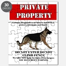 Cool Beware of dog sign Puzzle