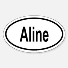 ALINE Oval Decal