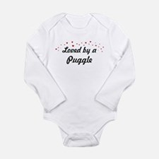 Loved By Puggle Body Suit