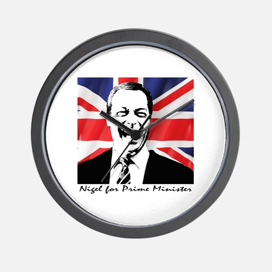 Cute Prime minister Wall Clock