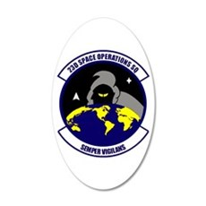 23rd Space Ops Sqdn Wall Decal