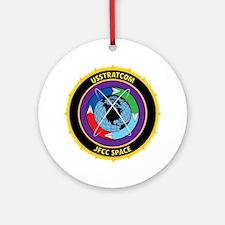 JFCCS Logo Round Ornament