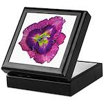 Lavender Eye Daylily Keepsake Box