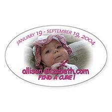 Find A Cure Sticker - SMA