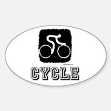 CYCLE Rectangle Decal