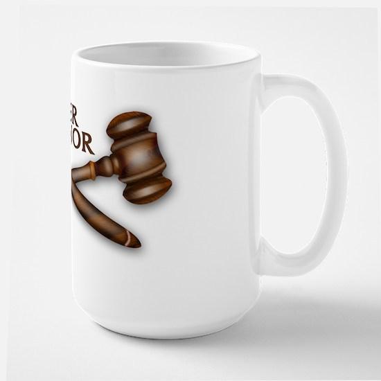 Her Honor Large Mug