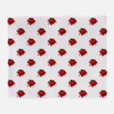 RED HEART CUP Throw Blanket