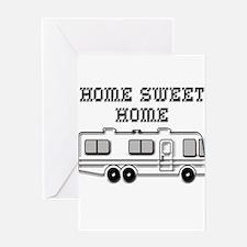 Home Sweet Home Motorhome Greeting Card