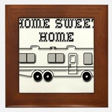 Home Sweet Home Motorhome Framed Tile