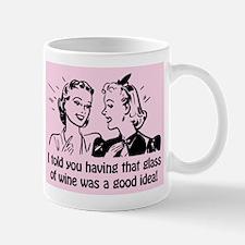 Retro Wine Mugs