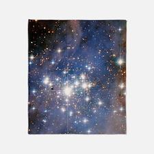 Cute Astronomy Throw Blanket
