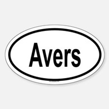 AVERS Oval Decal