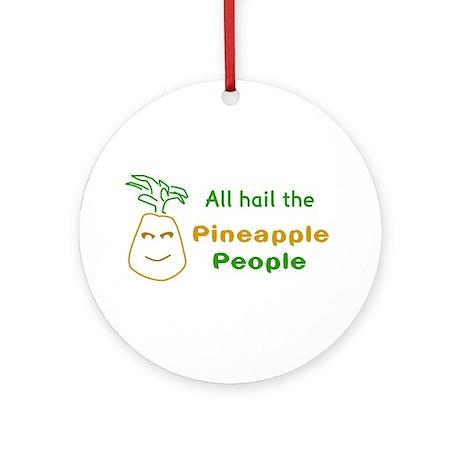 Pineapple People Keepsake (Round)