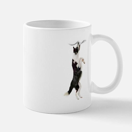 Border Collie Clingy Dog Mugs