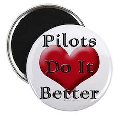 Pilots do it better Magnet