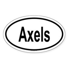 AXELS Oval Decal