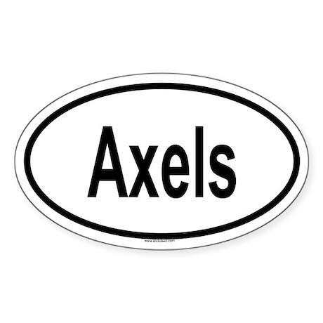 AXELS Oval Sticker