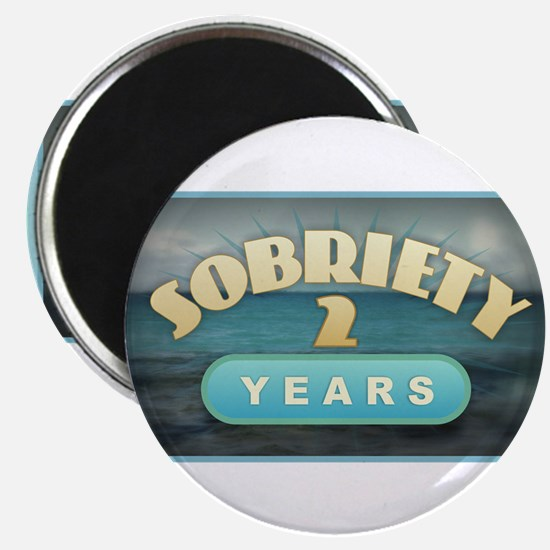 Sober 2 Years - Alcoholics Magnets