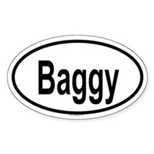 BAGGY Oval Decal