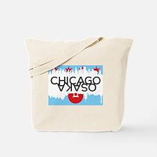 Funny American cities Tote Bag