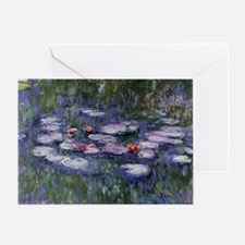 Funny Water lilies Greeting Card