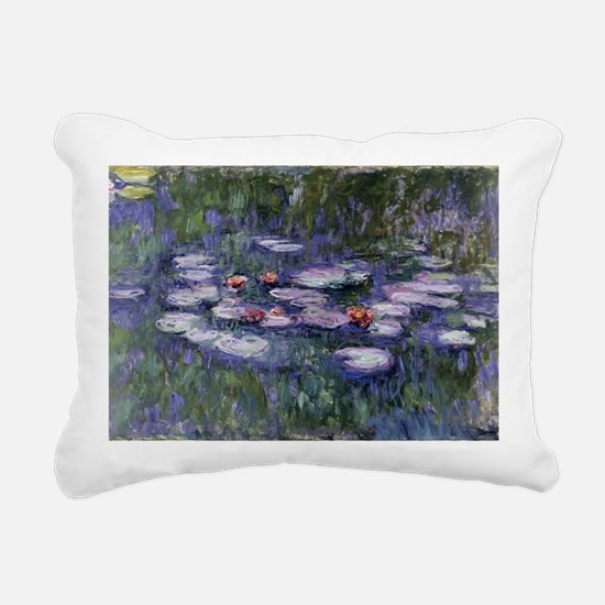 Claude monet Rectangular Canvas Pillow
