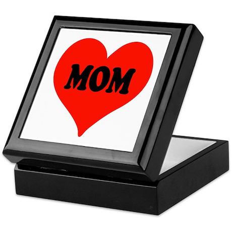 Mom Heart Keepsake Box