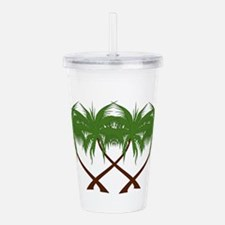 PALMS Acrylic Double-wall Tumbler