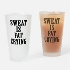 Unique Funny motivational Drinking Glass