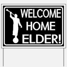 LDS: Welcome Home Elder! Yard Sign