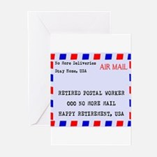 Retired Postal Worker s Greeting Cards