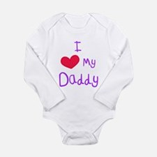 I Love My Daddy Body Suit