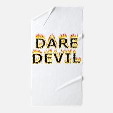 Daredevil (Flames) Beach Towel