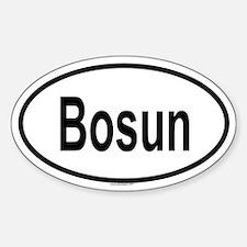 BOSUN Oval Decal