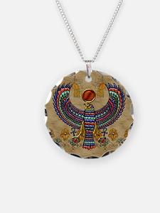 Harvest Moons Egypt Hawk Necklace