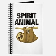 Sloth is my Spirit Animal Journal