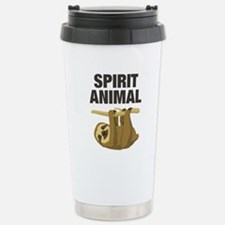 Sloth is my Spirit Animal Travel Mug