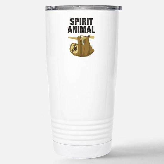 Sloth is my Spirit Animal Travel Mug