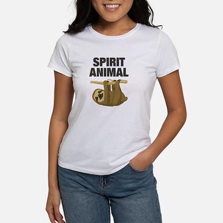 Sloth is my Spirit Animal  Womens Classic T-Shirt
