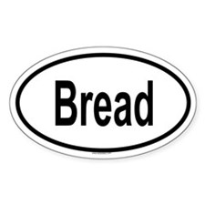 BREAD Oval Decal