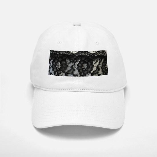 great gatsby black lace Baseball Baseball Cap