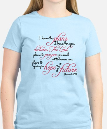 Jeremiah 29:11 - For I know the plan T-Shirt