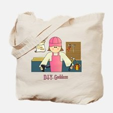 D.I.Y. Do It Yourself Goddess Tote Bag