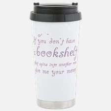 Funny Millionaires Book Stainless Steel Travel Mug