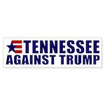 Tennessee Against Donald Trump Bumper Sticker