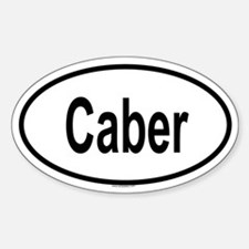 CABER Oval Decal