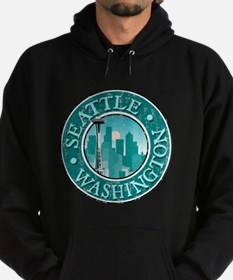 Seattle, WA - Distressed Sweatshirt